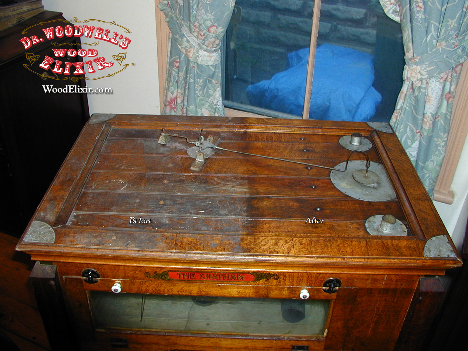 Charming How To Restore Antiques With Wood Elixir